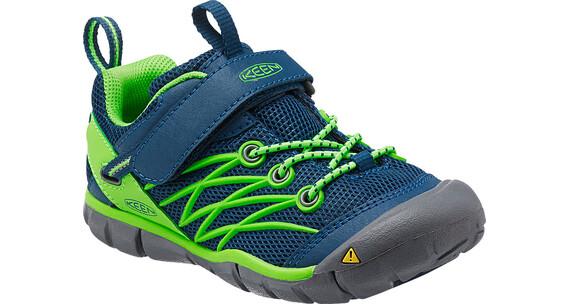 Keen Children Chandler CNX Shoes Poseidon/Jasmin Green